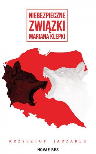 Niebezpieczne związki Mariana Klepki - okładka książki