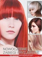 Nowoczesne zabiegi fryzjerskie - okładka podręcznika