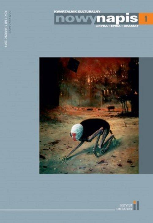 Nowy Napis Liryka epika dramat - okładka książki
