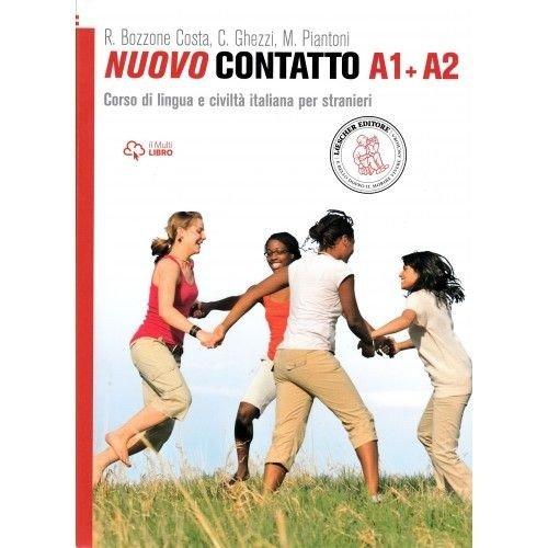Nuovo Contatto A1+A2. Podręcznik - okładka podręcznika