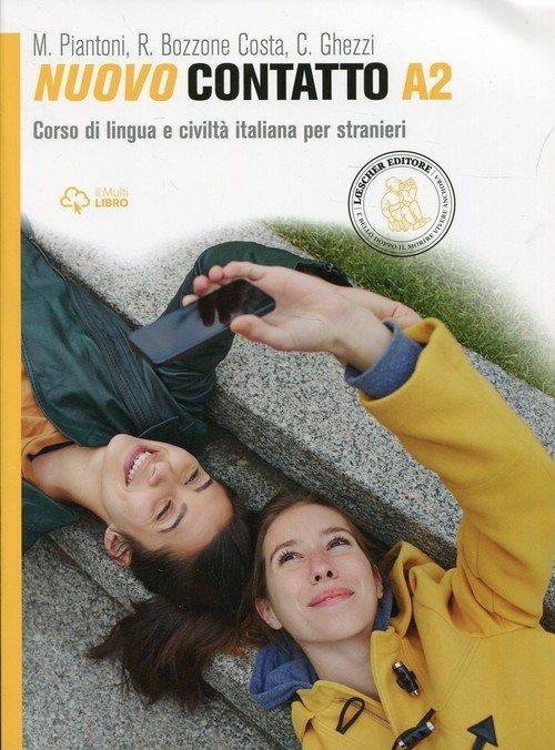 Nuovo Contatto A2. Podręcznik z - okładka podręcznika