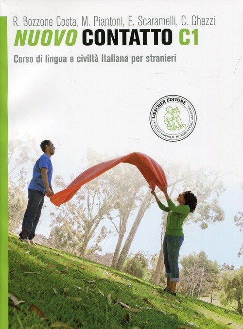 Nuovo Contatto C1. Podręcznik z - okładka podręcznika
