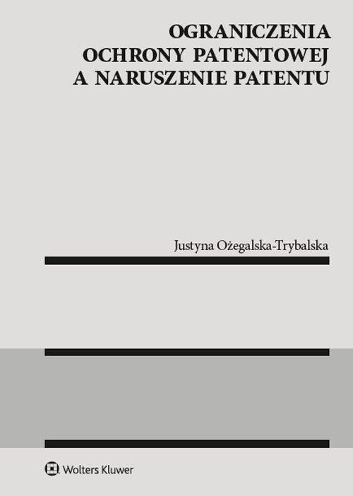 Ograniczenia ochrony patentowej - okładka książki