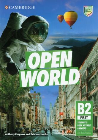 Open World First Students Book - okładka podręcznika