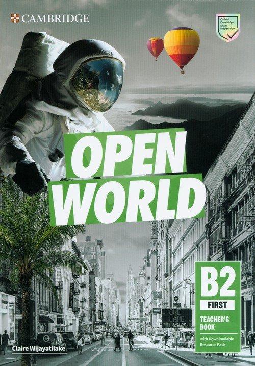 Open World First Teachers Book - okładka podręcznika
