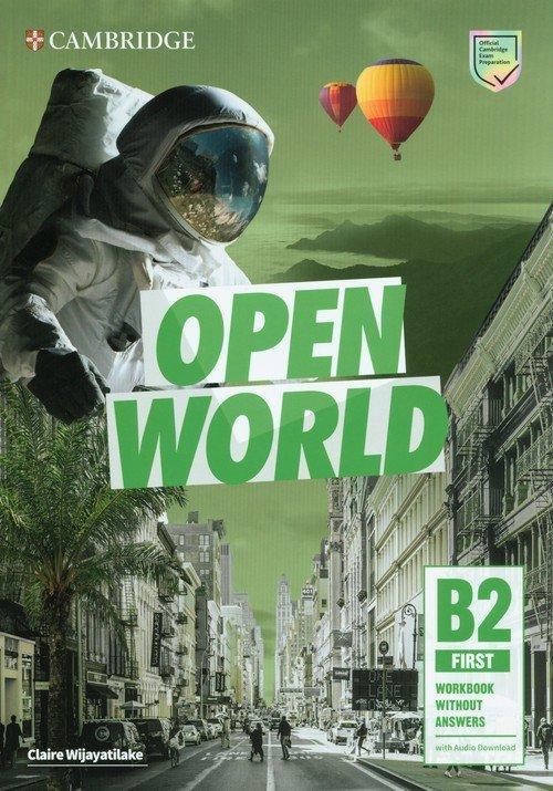 Open World First Workbook without - okładka podręcznika