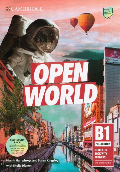 Open World Preliminary Self Study - okładka podręcznika