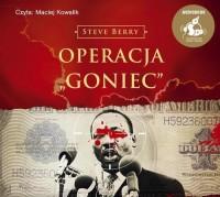 Operacja Goniec - pudełko audiobooku