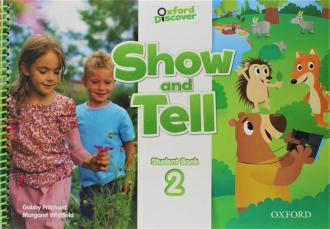 Oxford Show and Tell 2 Students - okładka podręcznika