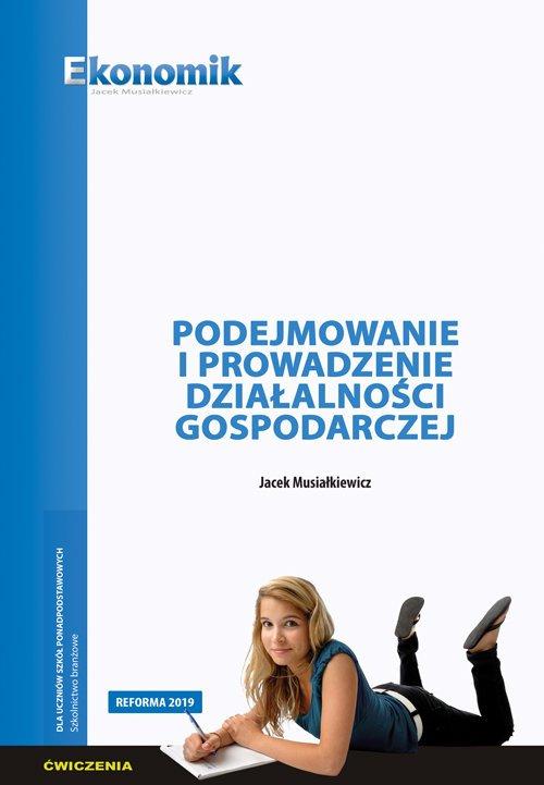 Podejmowanie i prowadzenie działalności - okładka podręcznika