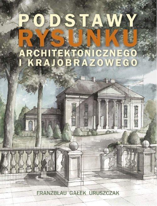 Podstawy rysunku architektonicznego - okładka książki