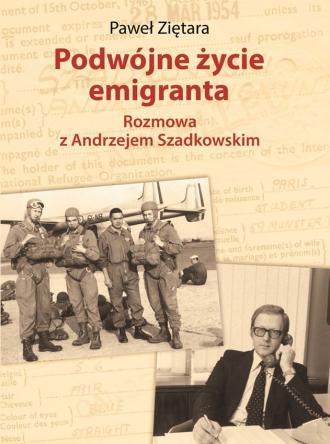 Podwójne życie emigranta. Rozmowa - okładka książki