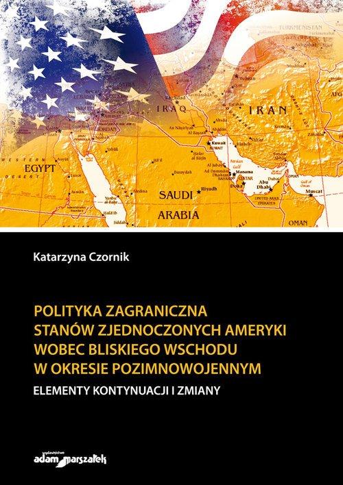 Polityka zagraniczna Stanów Zjednoczonych - okładka książki