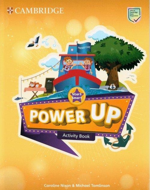 Power Up Start Smart Activity Book - okładka podręcznika
