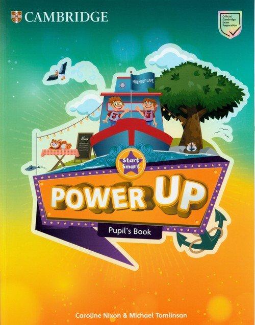 Power Up Start Smart Pupils Book - okładka podręcznika