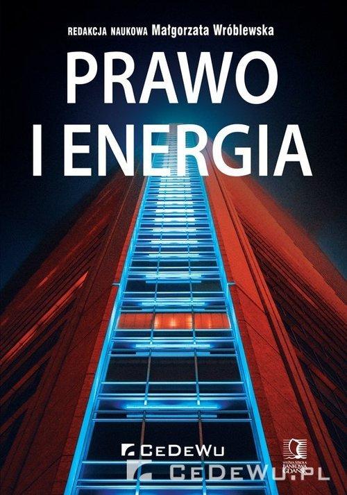 Prawo i energia - okładka książki