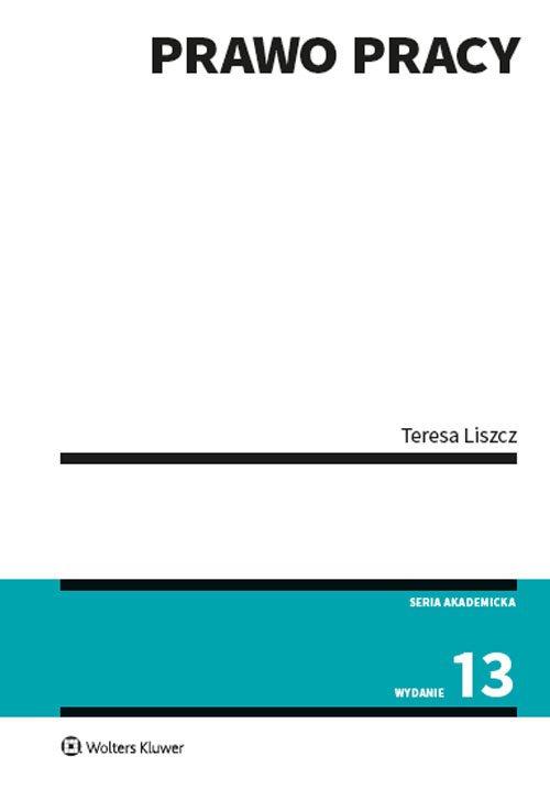 Prawo pracy - okładka książki