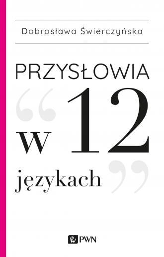 Przysłowia w 12 językach - okładka książki