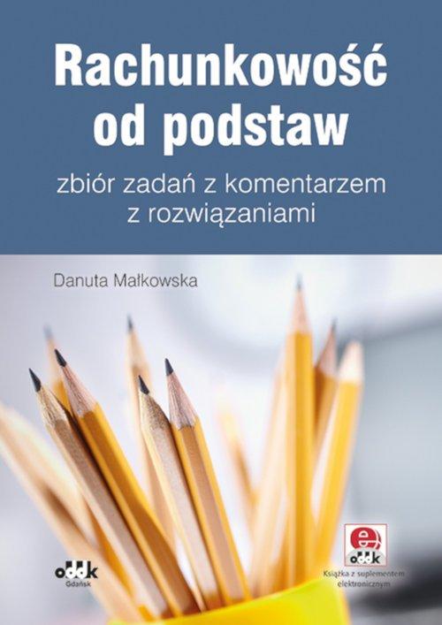 Rachunkowość od podstaw zbiór zadań - okładka książki