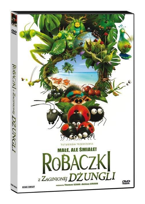 Robaczki z Zaginionej Dżungli (DVD) - okładka filmu