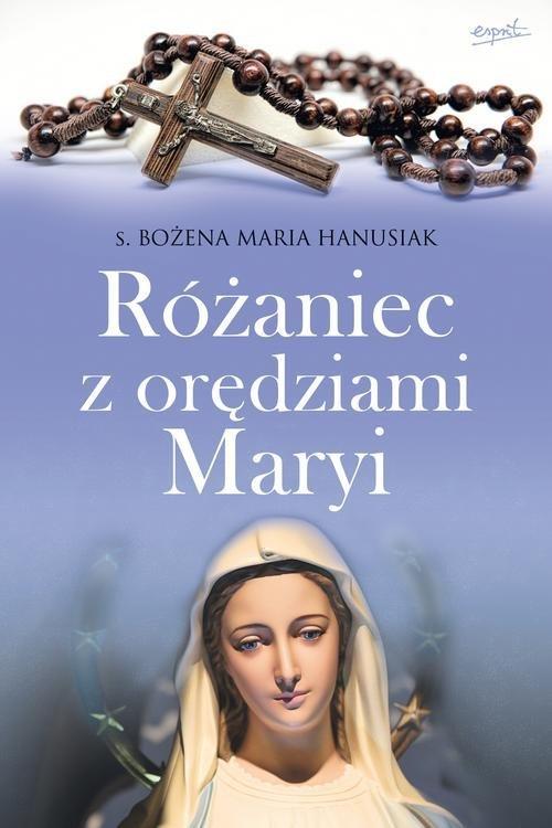 Różaniec z orędziami Maryi - okładka książki