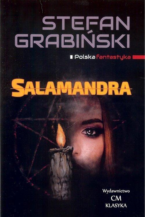 Salamandra - okładka książki