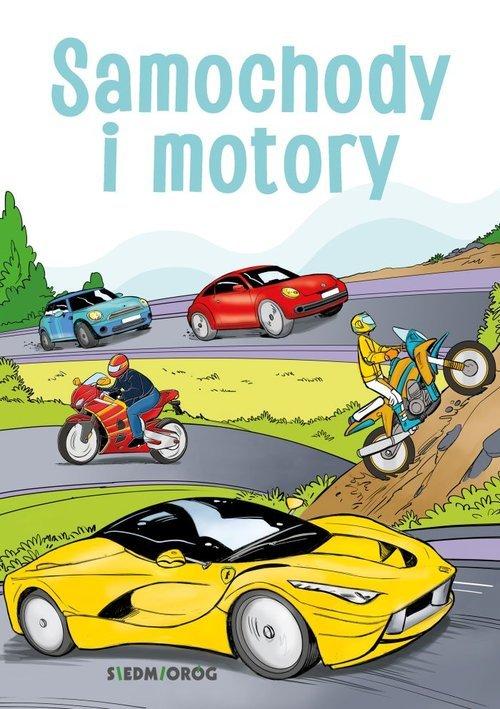 Samochody i motory - okładka książki
