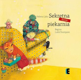 Sekretna kocia piekarnia - okładka książki