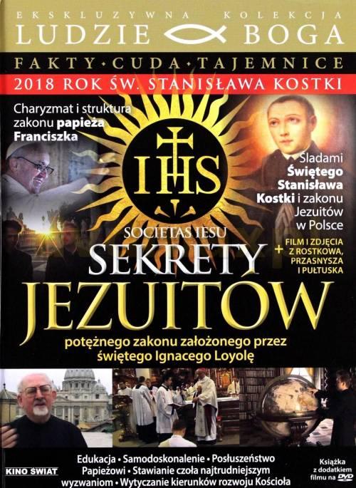 Sekrety Jezuitów (DVD) - okładka filmu