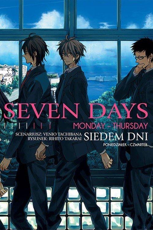 Seven Days #1 Monday - Thursday - okładka książki