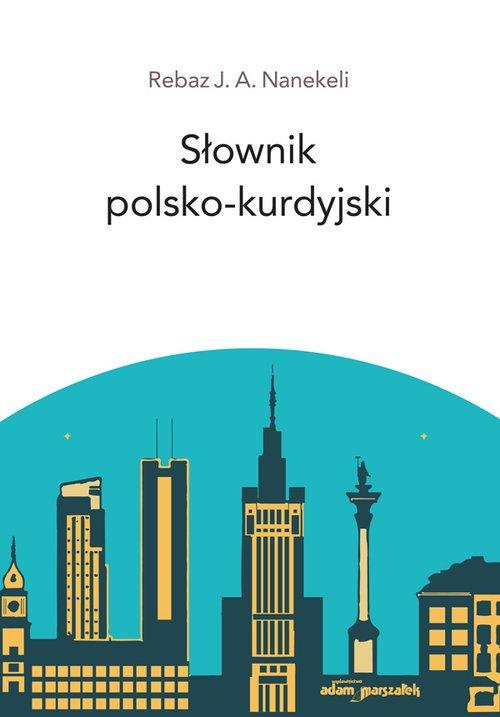 Słownik polsko - kurdyjski - okładka książki