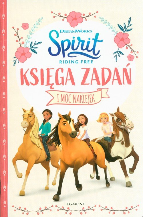 Spirit Riding Free. Księga zadań - okładka książki