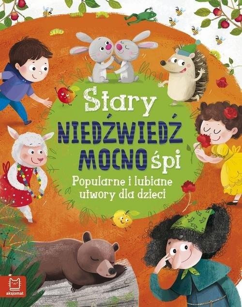 Stary niedźwiedź mocno śpi. Popularne - okładka książki