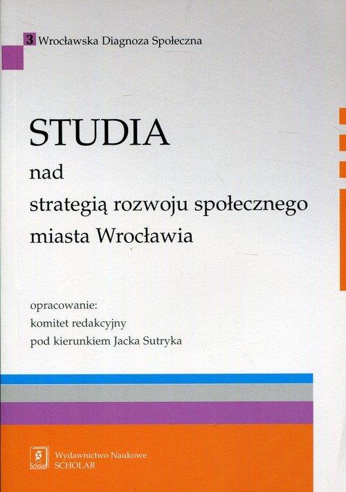Studia nad strategią rozwoju społecznego - okładka książki