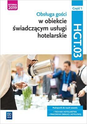 Technik hotelowy. Obsługa gości. - okładka podręcznika