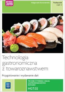 Technik żywienia i usług gastronomicznych. - okładka podręcznika