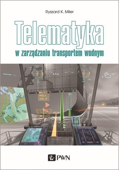 Telematyka w zarządzaniu transportem - okładka książki