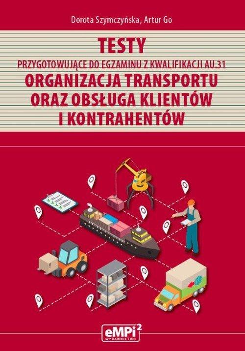 Testy kwalifikacja AU.31. Organizacja - okładka podręcznika