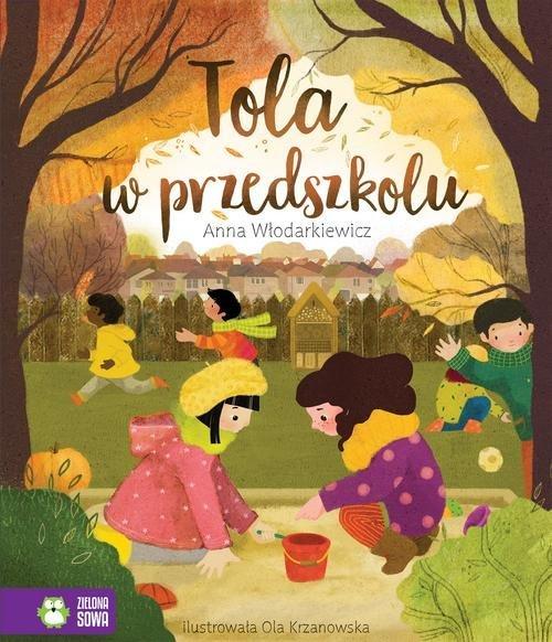 Tola w przedszkolu - okładka książki