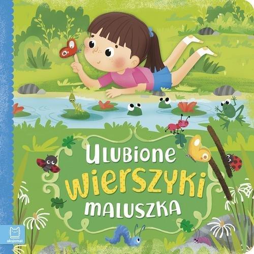 Ulubione wierszyki maluszka - okładka książki