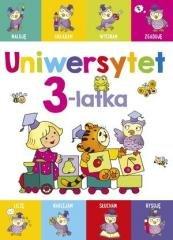Uniwersytet 3-latka - okładka książki