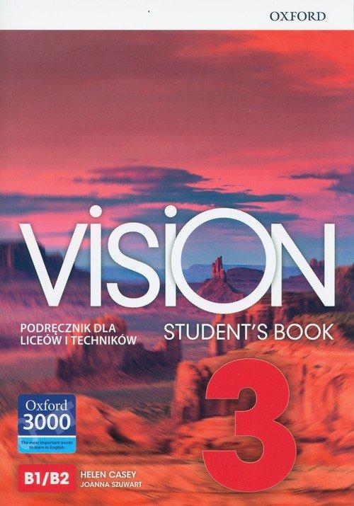 Vision 3 SB OXFORD - okładka podręcznika