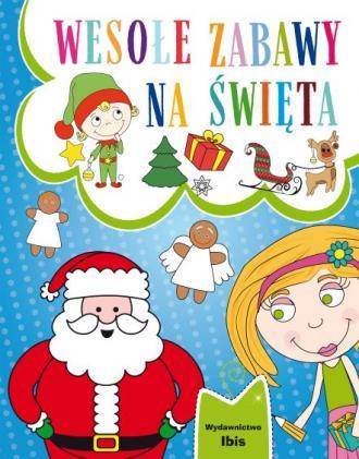 Wesołe zabawy na Święta - okładka książki