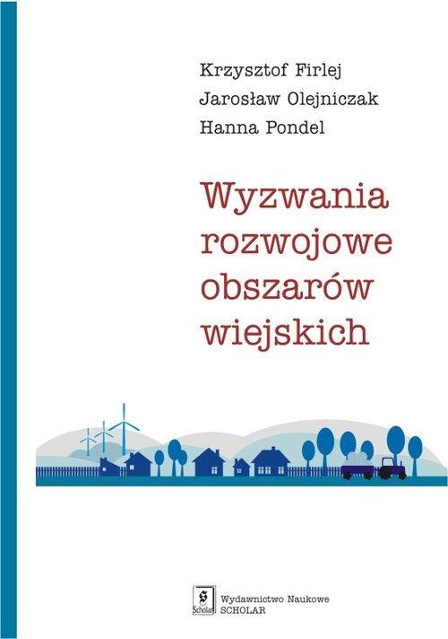 Wyzwania rozwojowe obszarów wiejskich - okładka książki