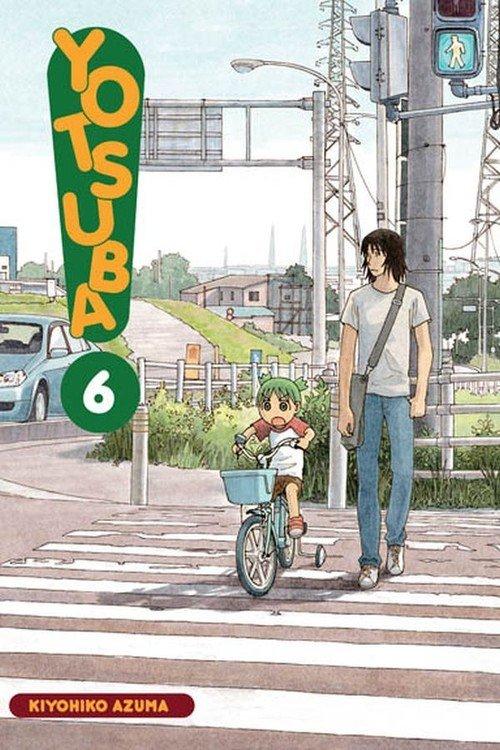 Yotsuba! #06 - okładka książki