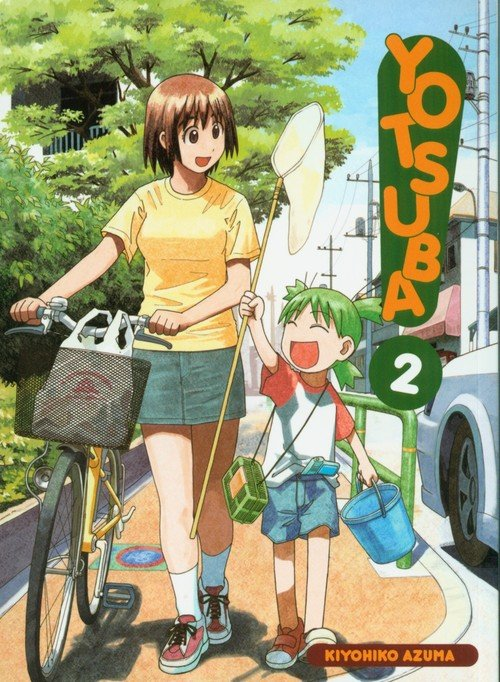 Yotsuba! 2 - okładka książki