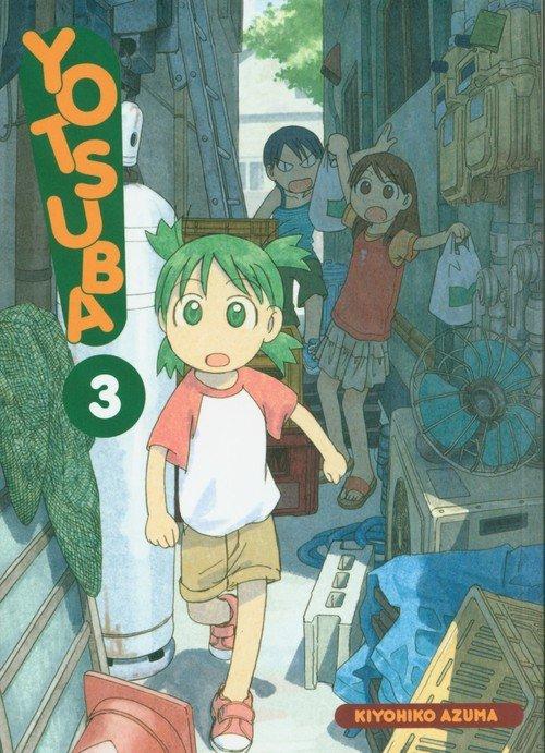 Yotsuba! 3 - okładka książki