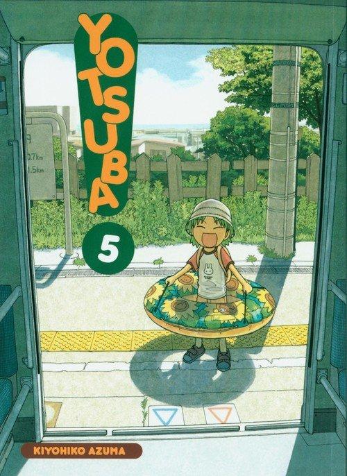 Yotsuba! 5 - okładka książki