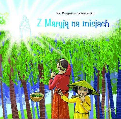 Z Maryją na misjach - okładka książki