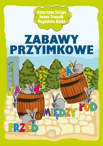 Zabawy przyimkowe - okładka książki